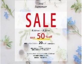 Summer Sale開催します!